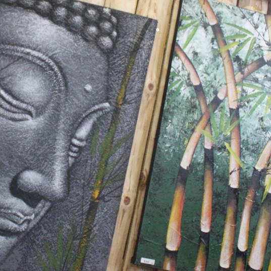 絵画 仏陀