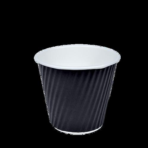 8oz Squat V cups- Black