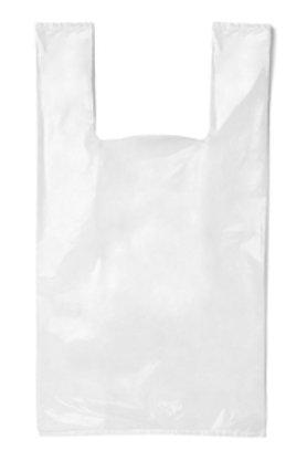 KO Small Singlet Bags- White