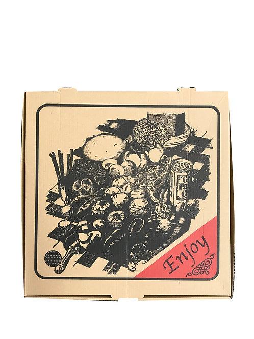 "Traditional 15 Pizza Box (50)"""