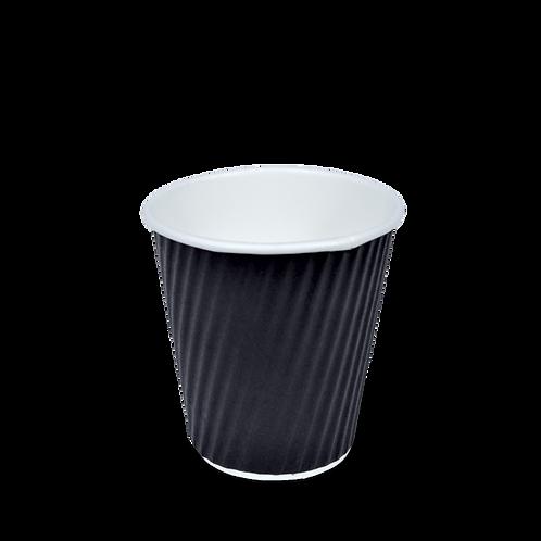 8oz V Cups- Black