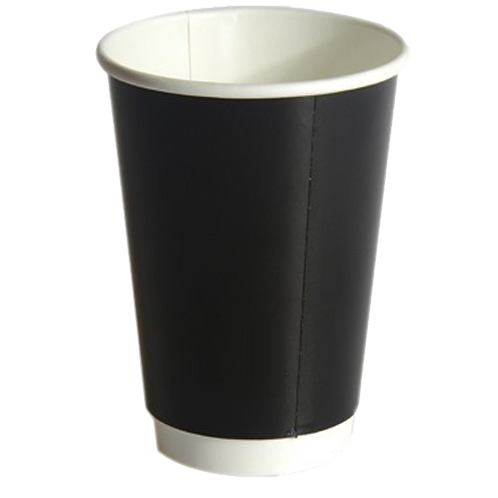 16oz Black Double Wall Cup
