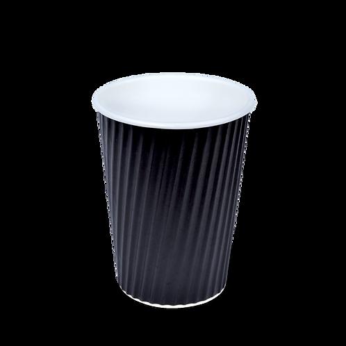 12oz V Cups- Black