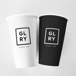 Custom print coffee cups