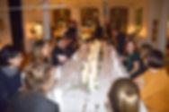 Gänge Menü in Begleitung von Oud-Live-Musik für die Weihnachtsfeier bei Coordination-Berlin. Bab Kisan (Catering & Partyservice bietet die feine arabische Küche an)