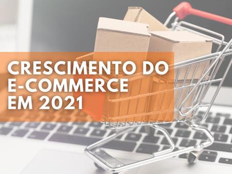 E-commerce brasileiro deve crescer 26% em 2021