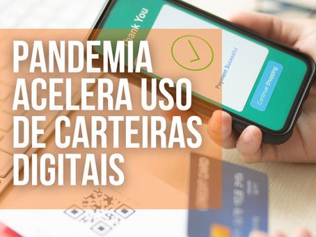 Pandemia do novo Coronavírus acelera uso das carteiras digitais