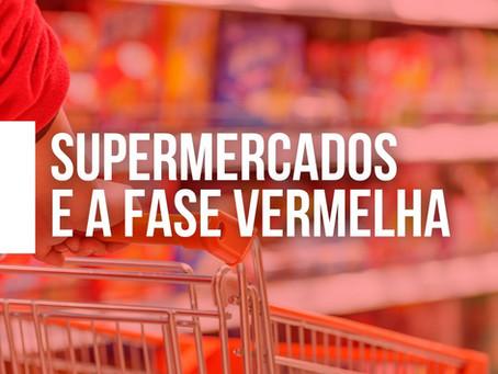Fase vermelha em São Paulo beneficia ainda mais os supermercados