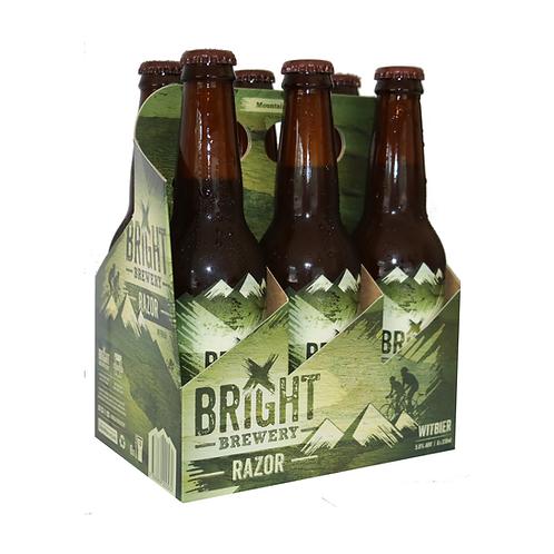 Bright Brewery Razor Witbier 24 x 330ml