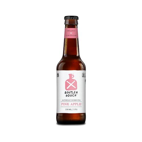 Bootleg Booch Pink Apple - 24 x 330ml