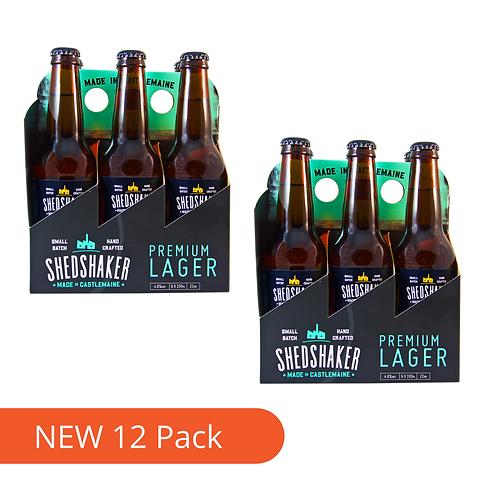 Shedshaker Refreshing Pils Lager  12 x 330ml