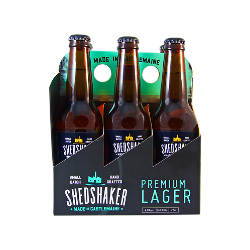 Shedshaker Refreshing Pils Lager  24 x 330ml