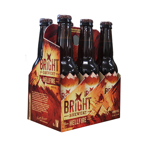 Bright Brewery Hellfire Amber Ale 24 x 330ml