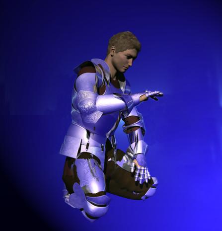 A Knight Kneeling Blue NGa.jpg