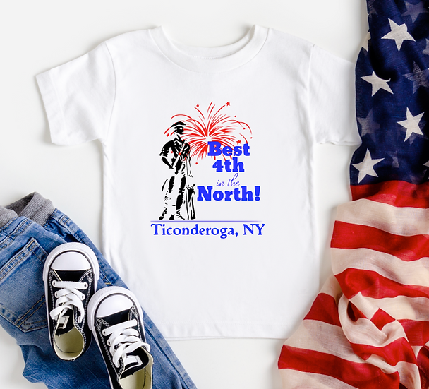 Youth/Toddler Best 4th T-shirt