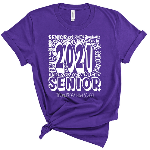 Senior Mashup T-shirt