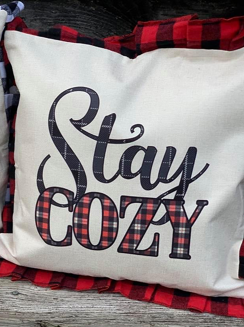 Stay Cozy Pillow