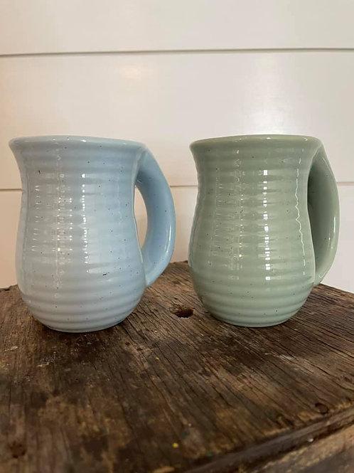 Farmhouse Speckle Cozy Hand Mug
