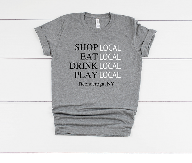 Support Local Business Mens T-shirt