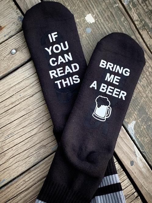 Bring Beer Socks