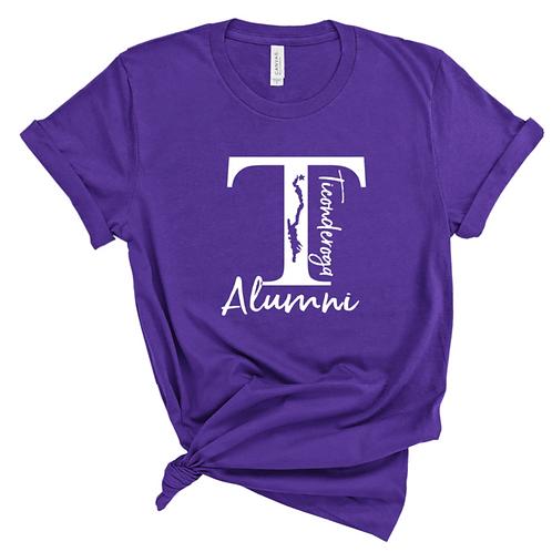 Alumni T Lake Script Shirt