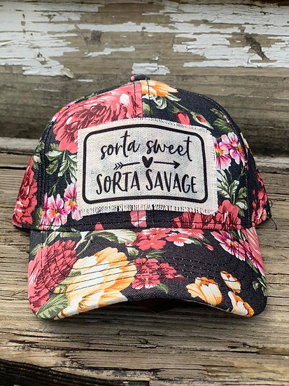 Sorta sweet / Sorta savage Hat