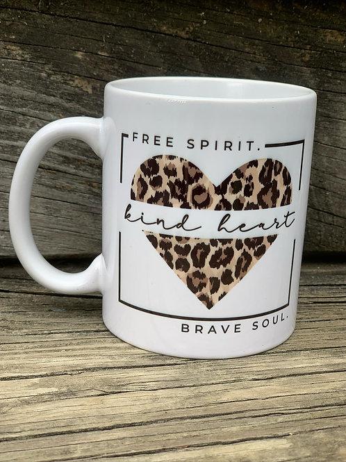Free spirit, Kind Heart, Brave Soul