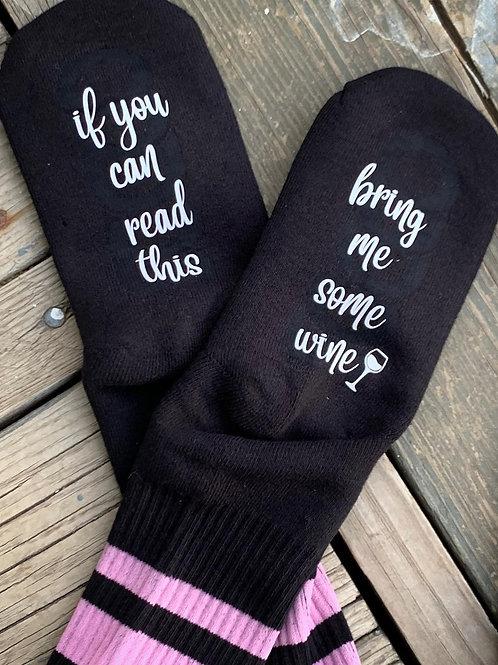 Bring Wine Socks