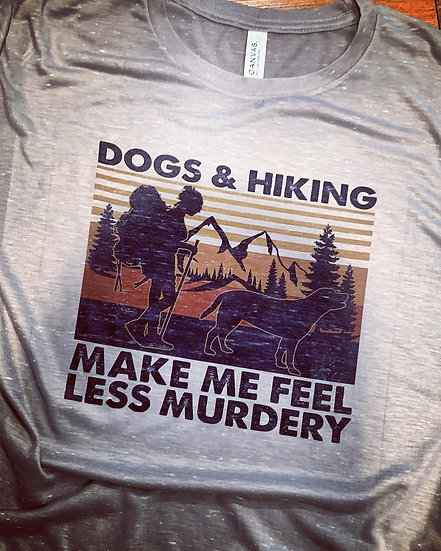 Dogs & Hiking T-shirt