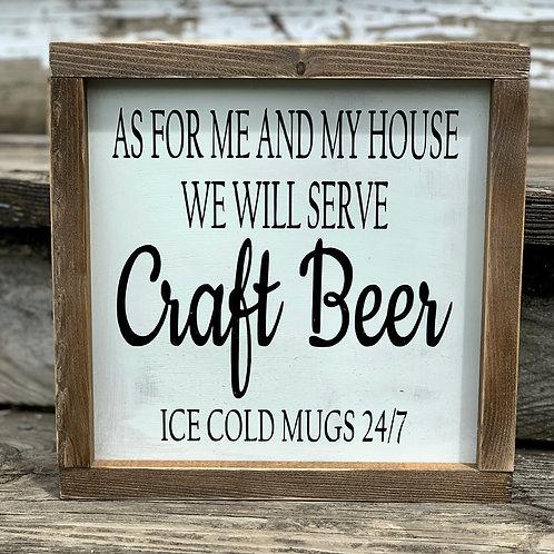 Craft Beer 24/7 Sign