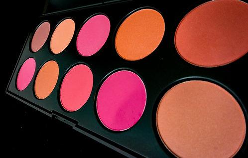 10 Color Median Blush Palette