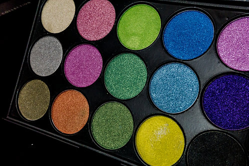 Cool Shimmer Eyeshadow Palette