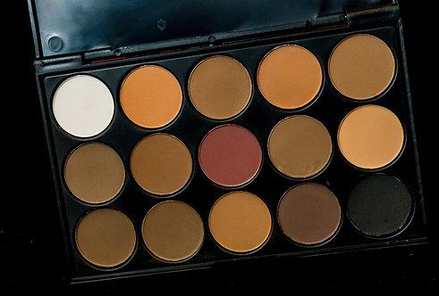 Warm Matte Neutral Eyeshadow Palette