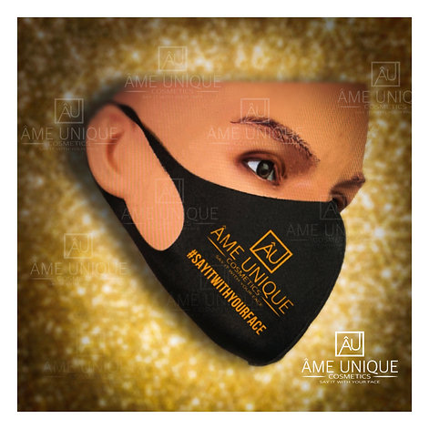 Say It With Your Face (soft fabric face mask)