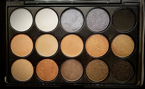Warm Shimmer Eyeshadow Palette