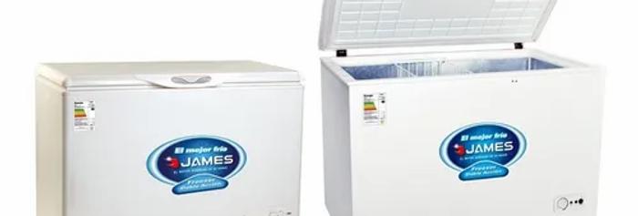 Freezer Heladera James 150 Horizontal Doble Acción Sensación