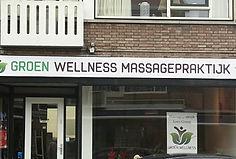Groen Wellness winkelpui Rotterdam Overschie