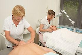 Samen genieten van een duo massage bij Groen Wellness in Rotterdam Overschie