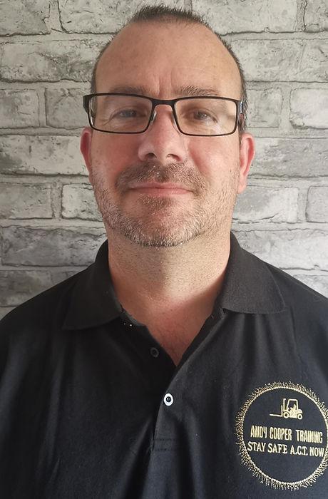 Andy Cooper Forklift Instructor