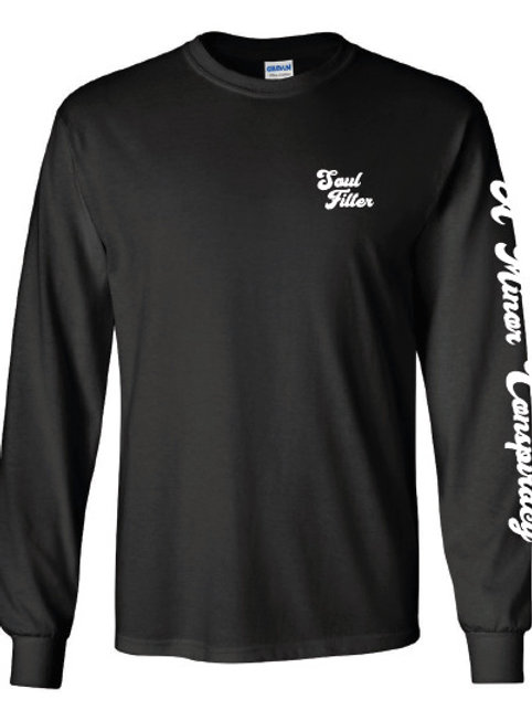 Long Sleeve Shirt with Raven on back.