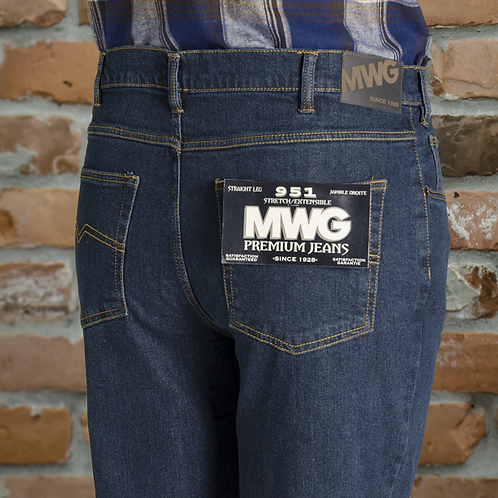 # M83951G MWG Stretch Denim Jeans