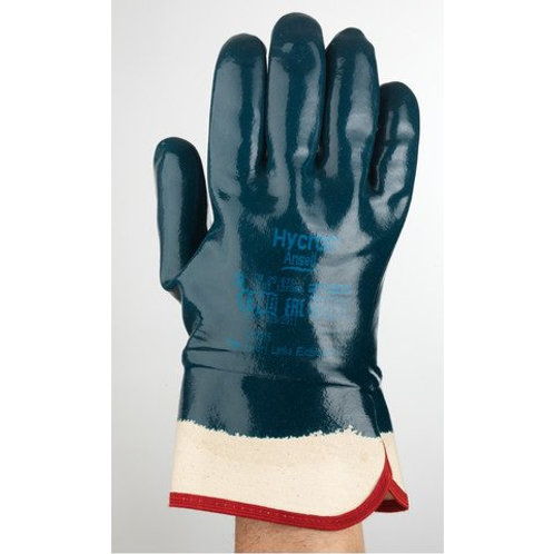 # 27-805 Blue Hycron gloves