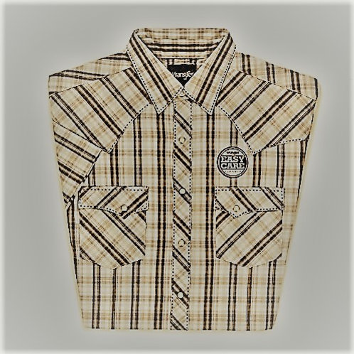 # MVG196M Wrangler Short Sleeve western snap front shirt