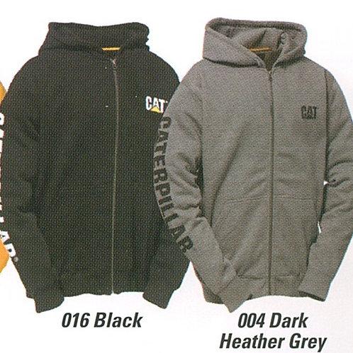 # W10840 Cat full zip hoodie