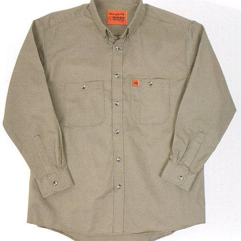 # FR3W5 Wrangler FR button work shirt