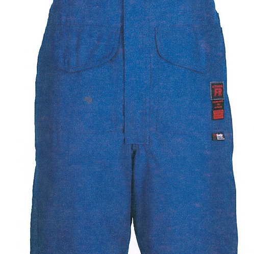 Actionwear Bib Pant - 6 oz Nomex® IIIA, Quilt Lined with Wind Barrier and trim.