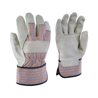 # 24-61 Ganka Glove-Cowgrain-Striped-Rubber.-Unlined