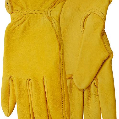 # 576 Watson glove Womens's unlined range rider deerskin gloves