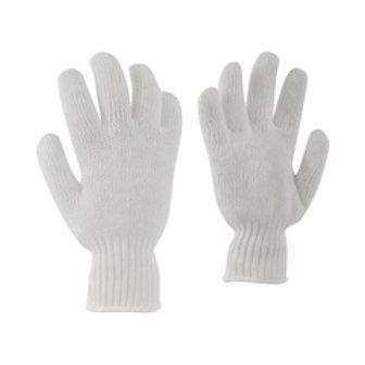 # 20-193 Ganka White Glove-100% Poly.-Elast.knit