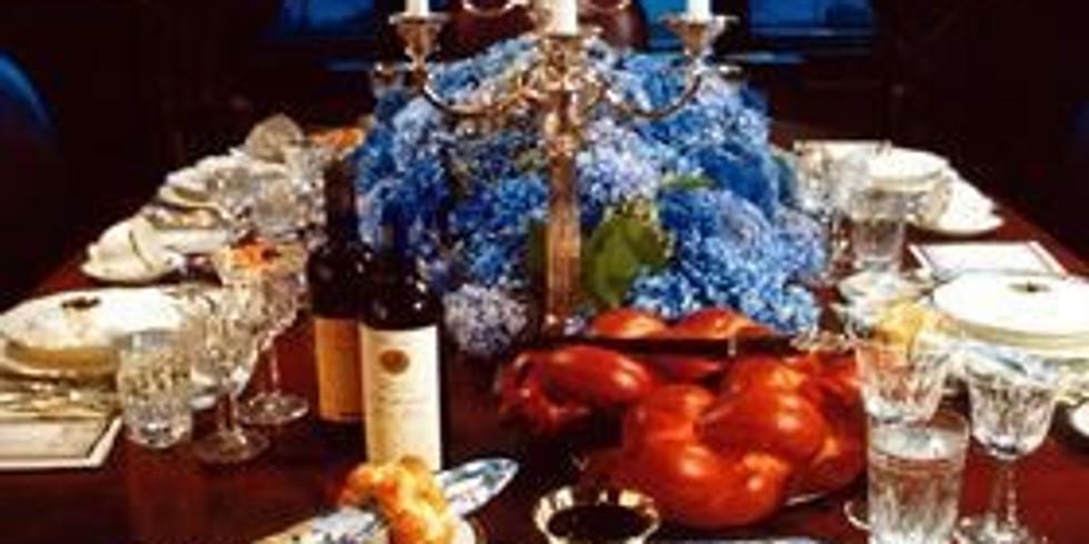 Repas du chabbat - Shabbos meal 30-31/08/19